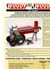 Horizontal Log Splitter-40 N and 50 N
