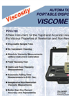 Portable / Disposable Viscometer PDV-100- Brochure