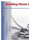 Pewag - - Stainless Steel Pump Lifting Chains Brochure