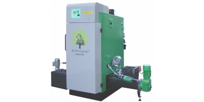 BIOKOMPAKT - Model AWK / ECO 120 - Automatically Fed Biomass Heating System