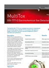 MultiTox - Model DGI -TT7-E - Electrochemical Toxic Gas Detector Brochure