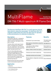Model DM-TV6-T - Multi-Spectrum Flame Detector Brochure