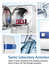 Systec - Model H-Series - Horizontal Floor Standing Autoclaves Brochure