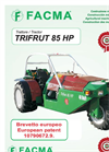 Trifrut 85 HP - Polyvalent Hydrostatic Agricultural Tractor Brochure