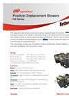 Positive Displacement Blowers NX Series - Brochure