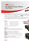 Air injection Vacuum Blower VTB.XL Series - Brochure