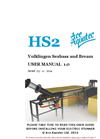 HS2 - Volklingen Seabass and Bream  User Manual