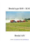 Lime and Fertilizer Spreader-K40 Brochure
