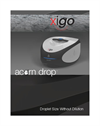 Acorn Drop – NMR Spectrometer from XiGo Brochure