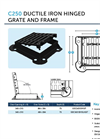 CGS - Model C250 - Gully Grates - Brochure