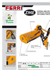 Model ZME - Central and Offset Mowers Brochure