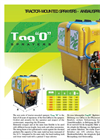 Tago - Model A - Tractor-Mounted Sprayers Brochure
