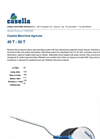 Model 40 T - 50 T - Reducer Flow Hydraulic Turbine Pipe Rewinding System Brochure