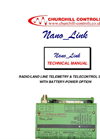 Model Nano_Link - Radio/Land Line Telemetry & Telecontrol System - Brochure