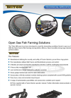 Triton - Model 400 and 450 - Fish Farming Cages/Pens Brochure