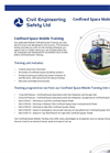 Confined Space Mobile Training- Brochure