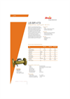 Itron US BR 473 Ultrasonic Flow Meter Brochure