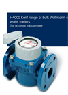 Elster H4000 Woltmann Cold Water Meters Brochure