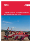 Joker - Model CT - Disc Harrows Brochure