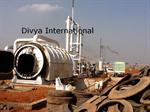 Divya International - Model DI-12 - Waste Tyre Pyrolysis Plant
