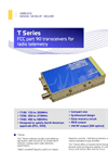 T Series - Transceiver Modules Brochure