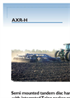 Bugseret - Model AXR-H Series - Hydraulic Folding Semi-Mounted Tandem Disc Harrow Brochure