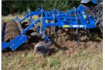 Dinco Triplex - Model 1885 - Heavy-Duty 3-Row Stubble Cultivator