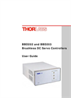 BBD203 - Benchtop Brushless DC Motor Controllers Manual