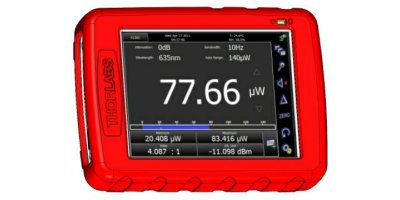 Model PM200 - Touch Screen Handheld Optical Power And Energy Meter