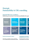 Strategic Sustainability & CSR consulting Brochure