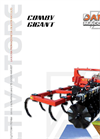 COMBY GIGANT - Model CC 40 G and 50 G - Cultivator Brochure