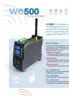 Model WE500 - Wireless Unattended Remote Monitoring and Control System Brochure