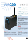 Model WE300 - Remote Monitoring Control and Datalogging System - Brochure