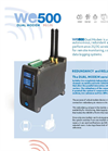 Model WE500 Dual Modem - Wireless Unattended Remote Monitoring and Control System Brochure