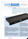 Model WE500 R - 3G + 2G Wireles Dual Modem - Brochure