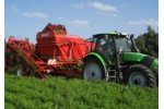 Model GBI Series - 1-Row Trailed Carrot Harvester with Bunker