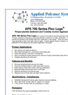 Floc Logs® Polyacrylamide Sediment and Turbidity Control Applicator Logs-APS-700 Series Brochure