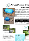 Pond Log - Model APS 800 Series - Brochure