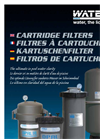 Trimline - Model TCF series - Cartridge Filter Brochure