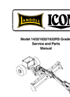 ICON - Model 1230 & 1632 - Pull-Type Grader/Box Scrapers - Manual
