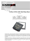 UFO2 ASIC For Ultrasonic Flow Meter Datasheet