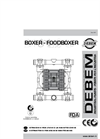 Boxer - Foodboxer - Pump Manual