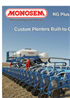 NG Plus - Model 4 - Pneumatic Planter with Double Discs Brochure 2014