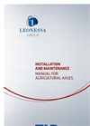 Installation and Maintenance Brochure