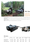 Model SSL Speed - Forestry Tiller- Brochure