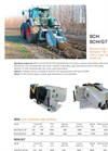 Model SCH - SCH/GT - Stump Cutter Brochure
