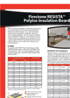 Resista Polyiso Insulation Board Brochure
