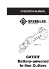 Greenlee - Model 120V - Battery Bolt Cutters Brochure