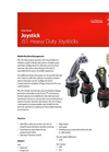 Model JS1-H - Joysticks Brochure
