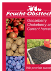 Berry and Cherry Harvester Products Catalog